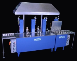 RAMCO Aerospace ultrasonic-agitation wash-rinse-rinse-dry console system