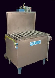 RAMCO All pneumatic solvent washing system