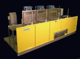 RAMCO Automated bearing wash-rinse-dry system