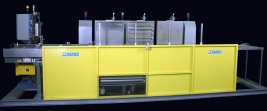 RAMCO Automated fluorescent penetrant inspection system for bearings