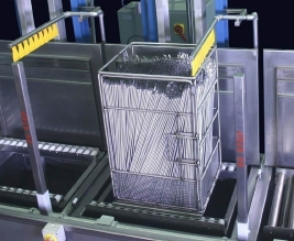 RAMCO Automated tube washing system for automotive basket