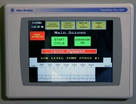 RAMCO Automation PLC touch screen