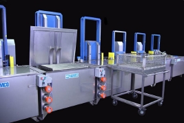 RAMCO Cautic leaching system for investment castings
