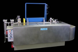 RAMCO Large paint stripping system with ventilation