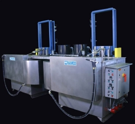 RAMCO Mass transit wash and rinse parts washing system