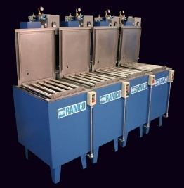 RAMCO Multi-stage small parts washing system