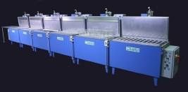 RAMCO Semi-automated citric passivation line
