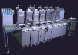 RAMCO Semi-automated fluorescent penetrant inspection system