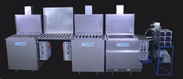 RAMCO Ultrasonic cleaning system for racing engines