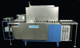 RAMCO Ultrasonic console system for washing small bearings