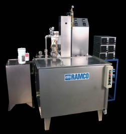 RAMCO Ultrasonic washing for military components