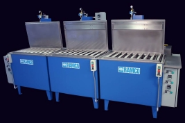 RAMCO Wash-rinse-dry parts washing system