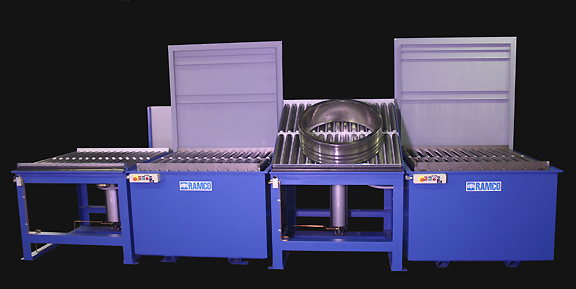 RAMCO Equipment system capable of handling bearings up to 2500 pounds.