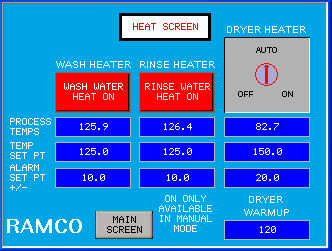 RAMCO-equipment-immersion-parts-washer-washing-console-series-ultrasonic-screen