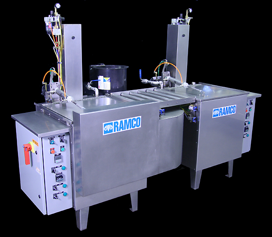 RAMCO Industrial Immersion Parts Washer - MK Series Wax Removal System