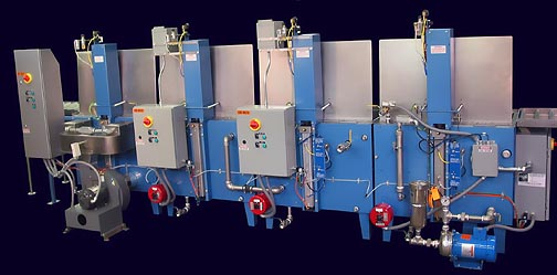 RAMCO Equipment Immersion Washing MK Series Multi Stage Line Rear