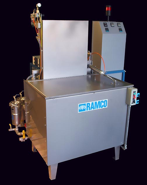 RAMCO MKD16 is a Multi Stage Wash/Rinse Console designed for degreasing and cleaning applications.